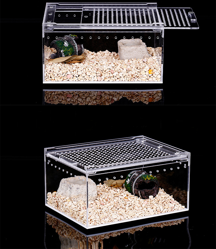 Acrylic Reptile Cage Breeding Cage For Reptiles