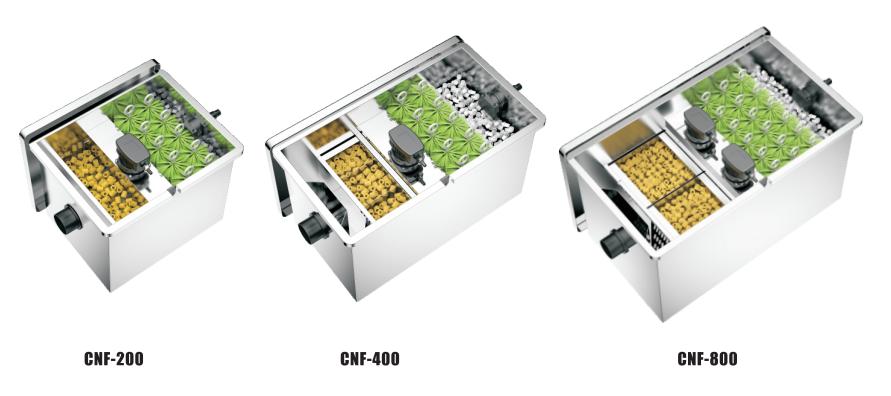 CNF Series STAINL ESS STEEL BIO-FILTER