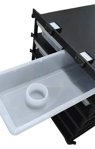 Tub with Feeding Bowl for Snake Rack 80*33*12cm