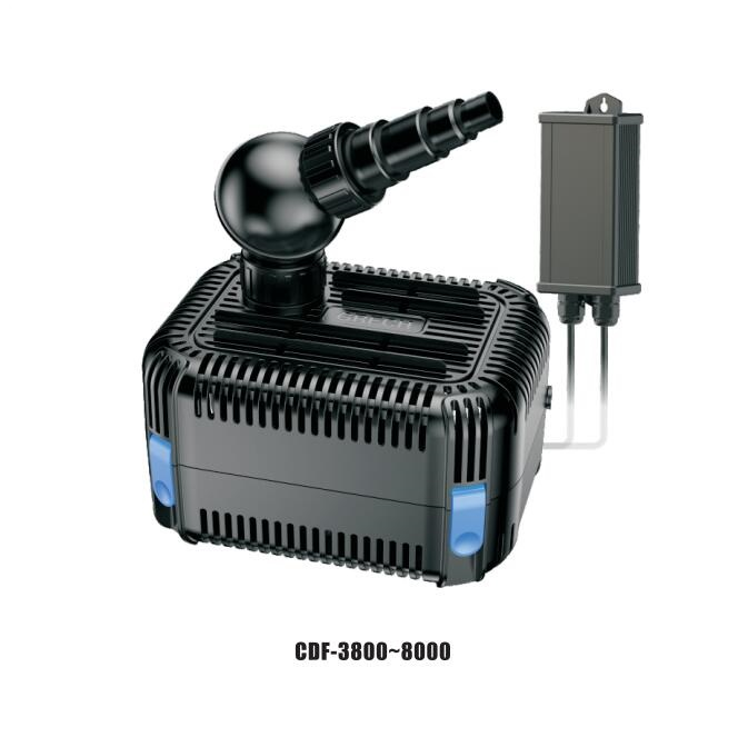 CDF Series Low Voltage Pond Filtration Pump