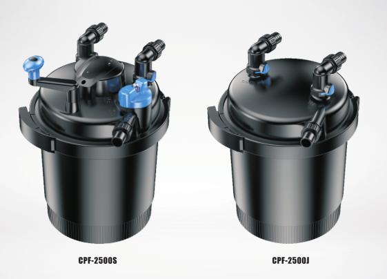CPF-2500S/2500J Series Pond Bio Press Filter