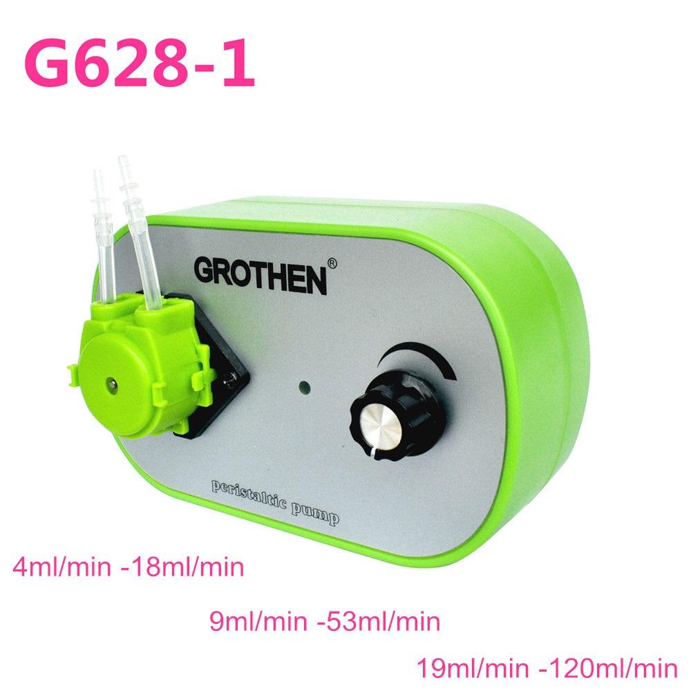 G628-1 Peristaltic Liquid Pump Dosing Pump for Aquarium Lab Water Analytical