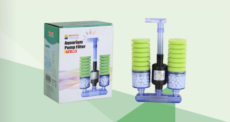XY-2902 Aquarium Pump Filter