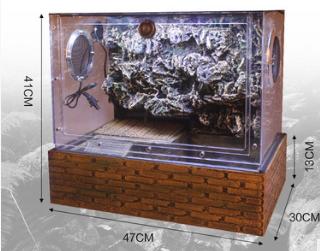 YP-400 Glass terrarium