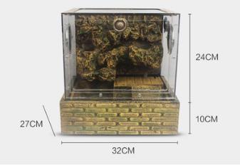 YP300-A Glass terrarium