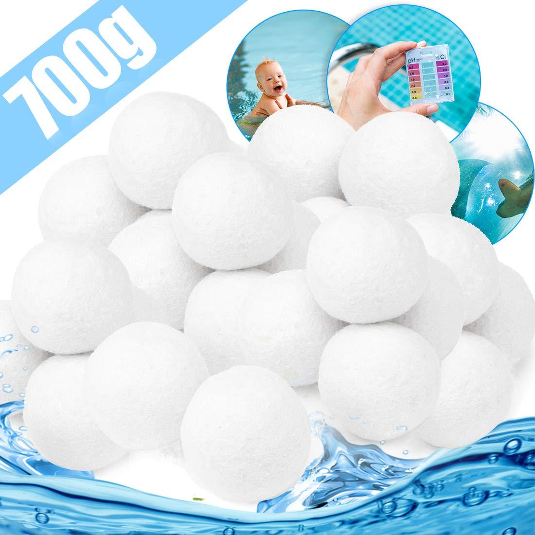 700g Pool Filter Balls Eco-Friendly Fiber Filter Media