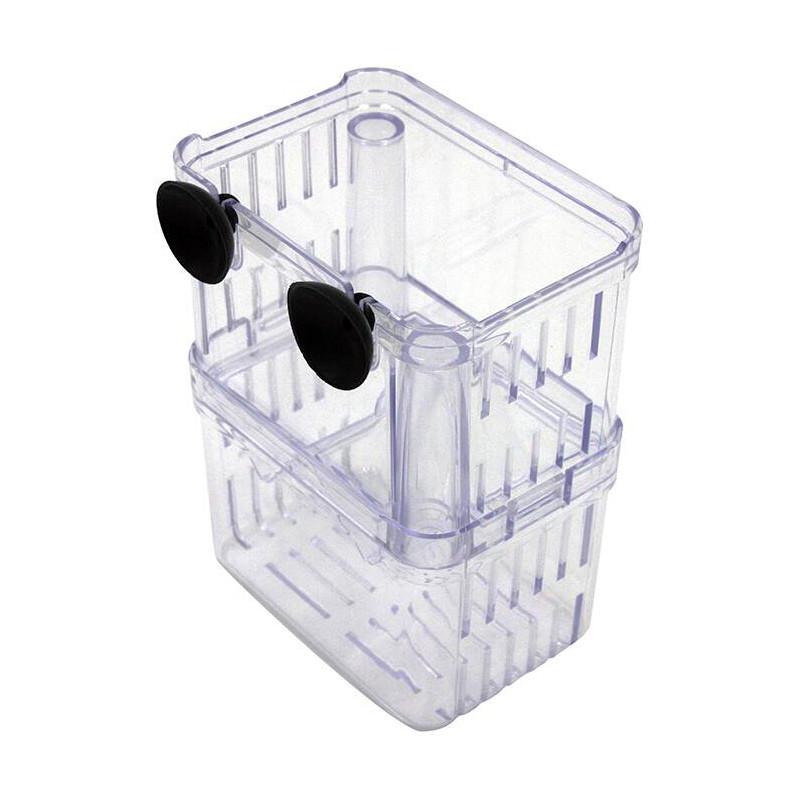 Aquarium Fish Tank Double Incubator Breeding Box BB-S/L
