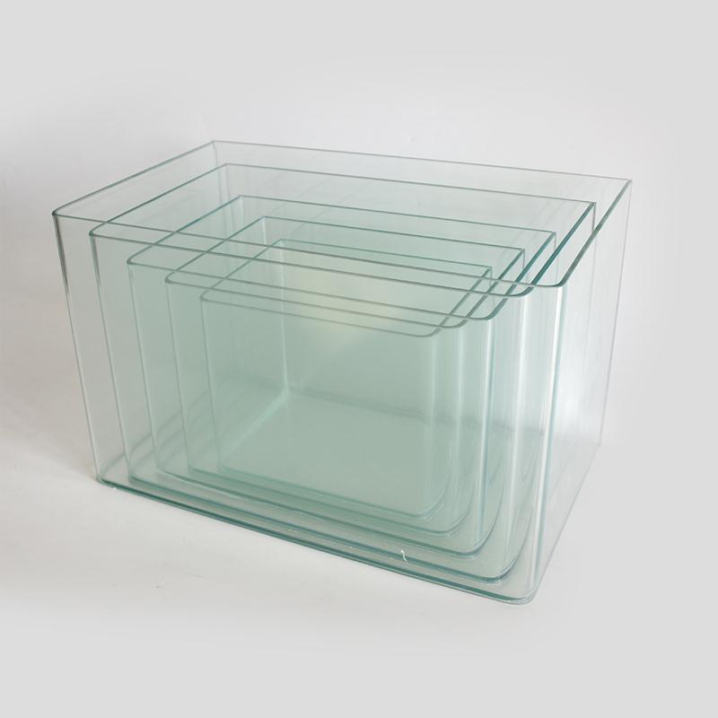 Curved Glass Tank Set