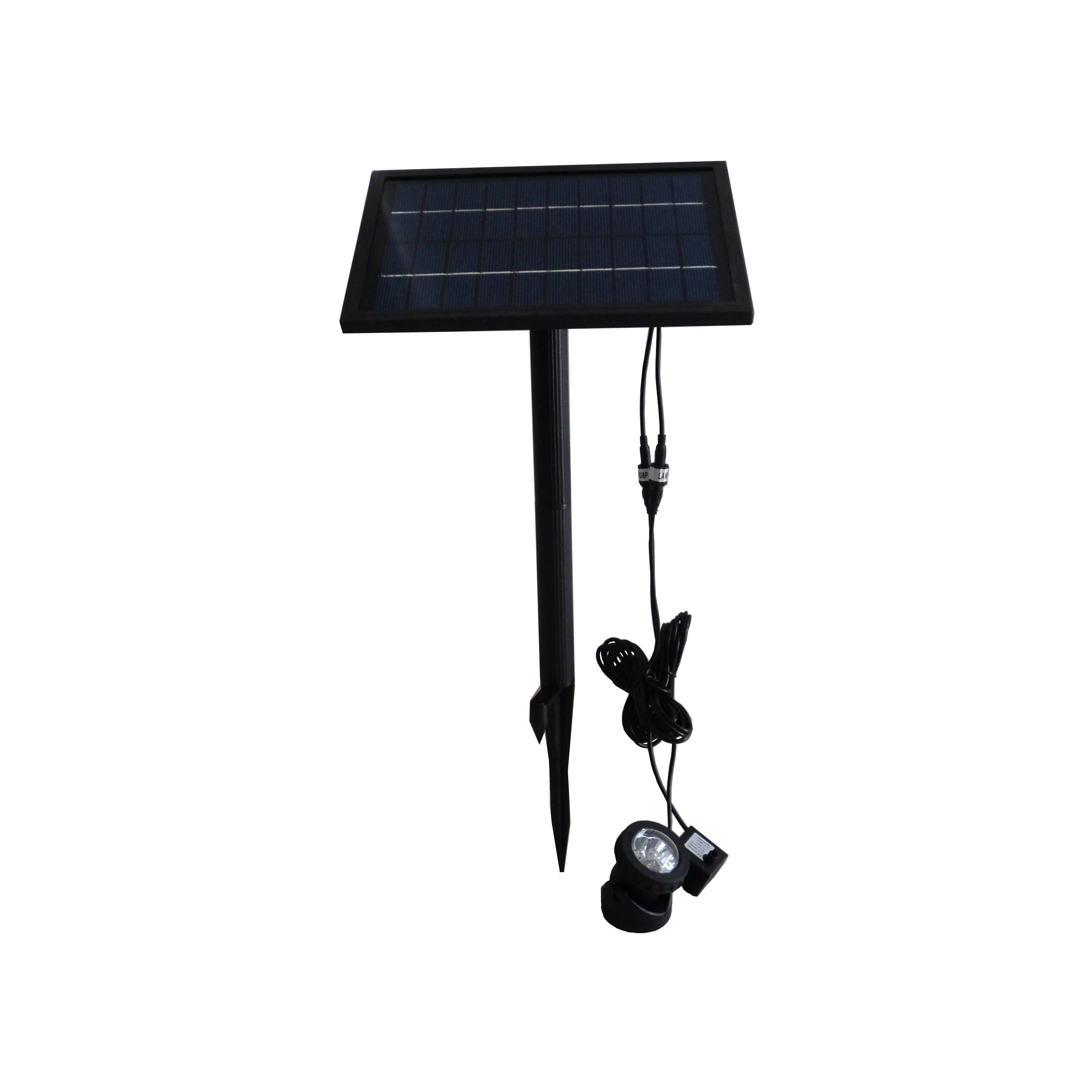 GY-X-004L Solar Fountain Pump with LED light