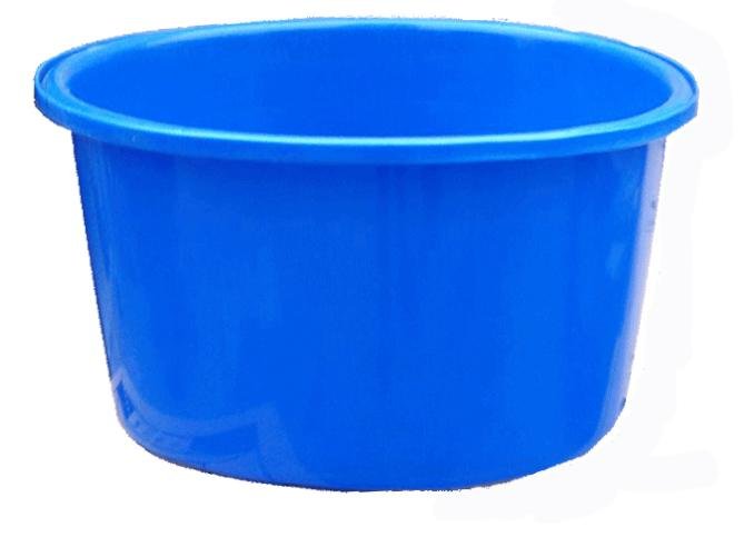 Blue Round Transport Koi Bowl