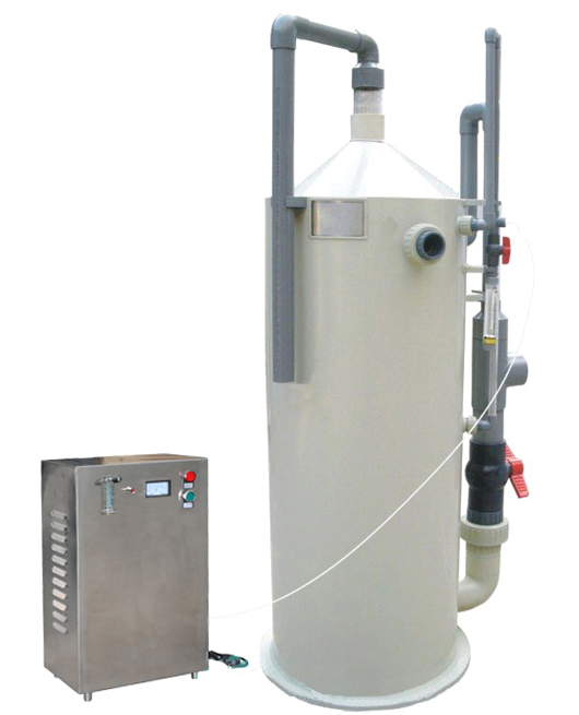 Aquaculture equipment protein separator