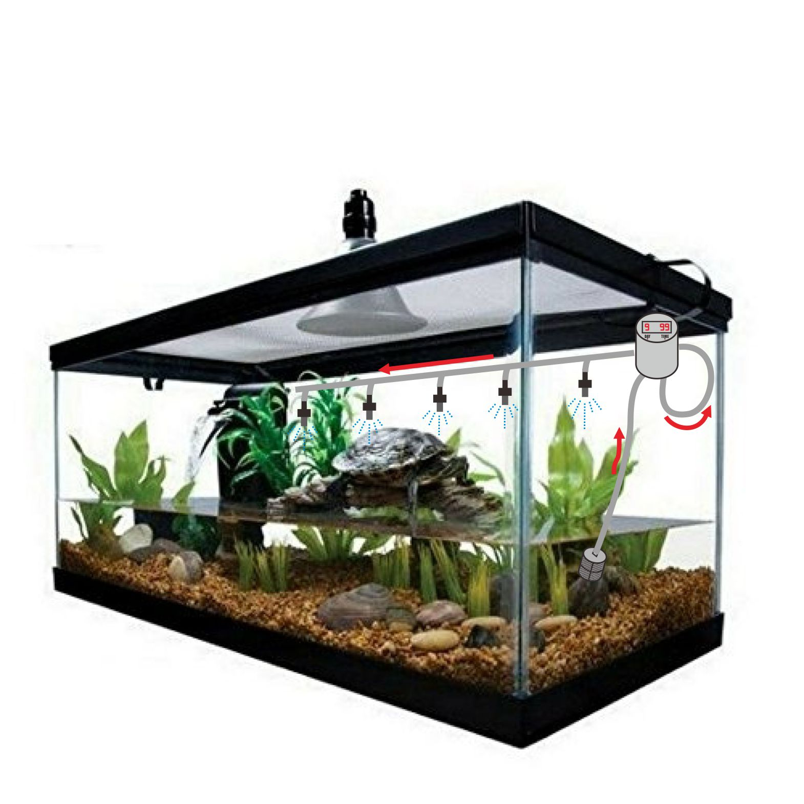 Reptile Rain Forest System DB-001